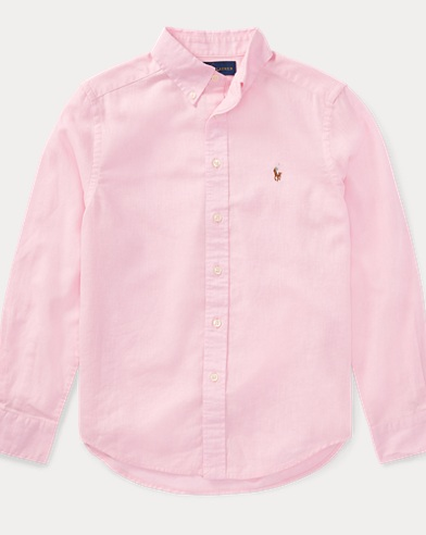 Linen-Cotton Sport Shirt