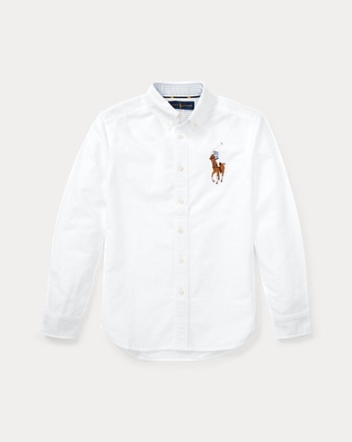 Camicia Oxford Big Pony in cotone