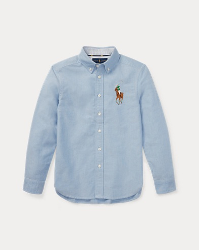 Chemise Big Pony en coton Oxford