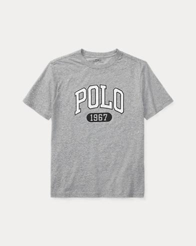Grafik-T-Shirt aus Baumwolljersey