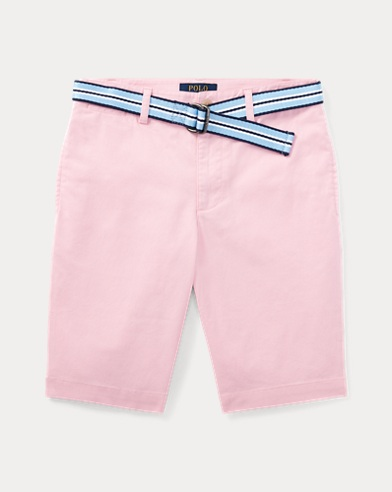 Short stretch Slim-Fit con cintura
