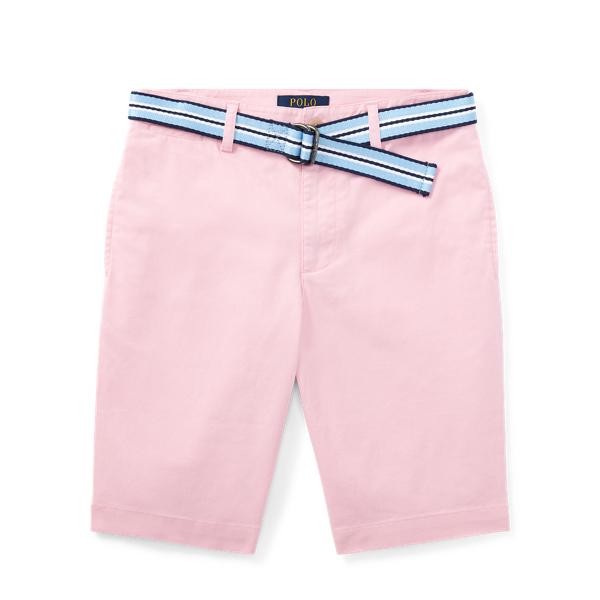 Ralph Lauren Slim Fit Belted Stretch Short Carmel Pink 16