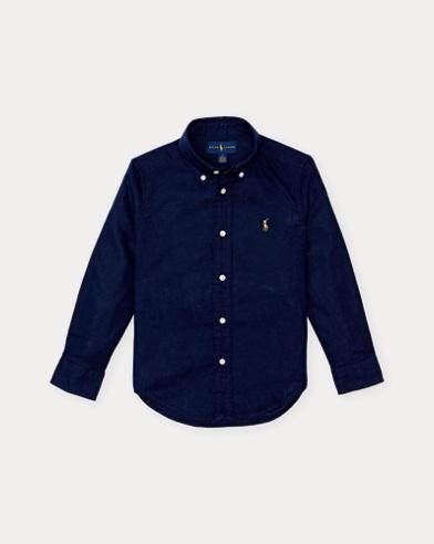 Leinen-Baumwoll-Hemd
