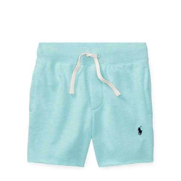 Ralph Lauren Cotton-Blend-Fleece Short Light Mint 3T