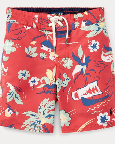 Sanibel Tropical Swim Trunk