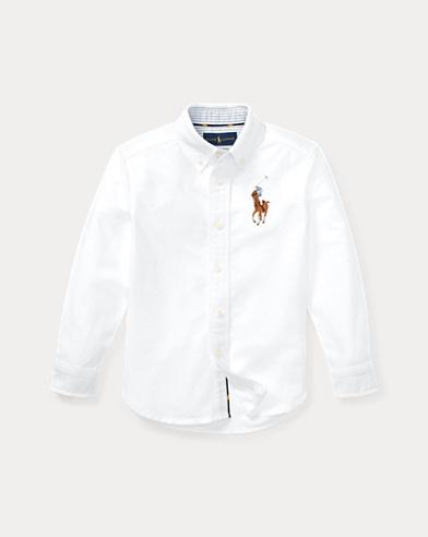Big Pony Cotton Oxford Shirt