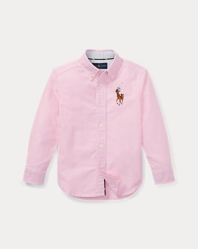 Big Pony Cotton Oxford Shirt