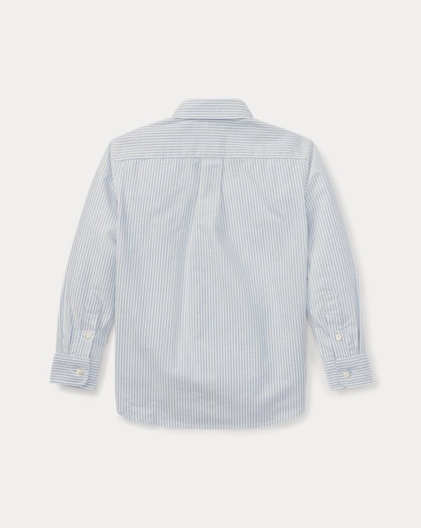 Big Pony Striped Oxford Shirt