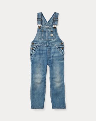 Denim-Overall aus Baumwolle