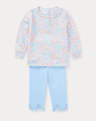 Floral Pullover & Legging Set