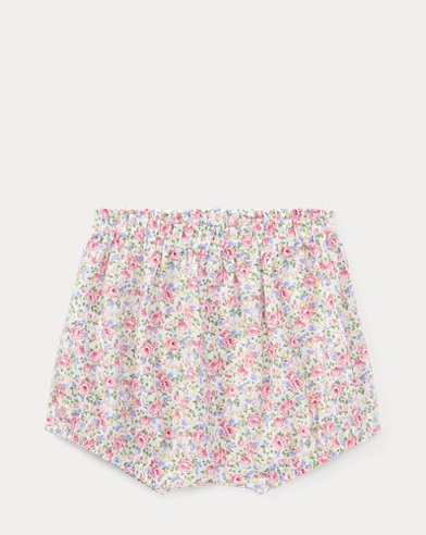 Floral Cotton Poplin Bloomer