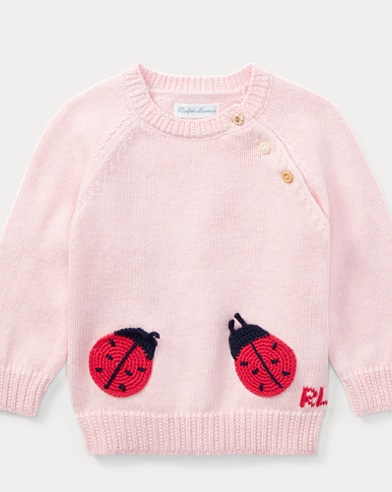 Ladybug Cotton Sweater