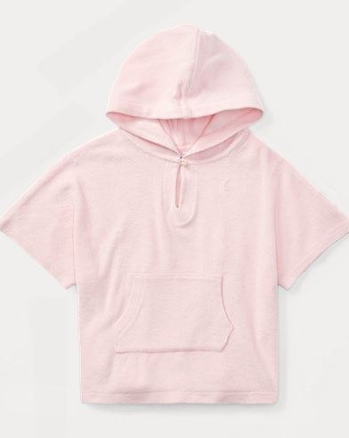 Hooded Cotton Terry Cover-Up