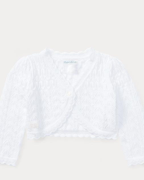 d3c200a1d Pointelle Cotton Cardigan