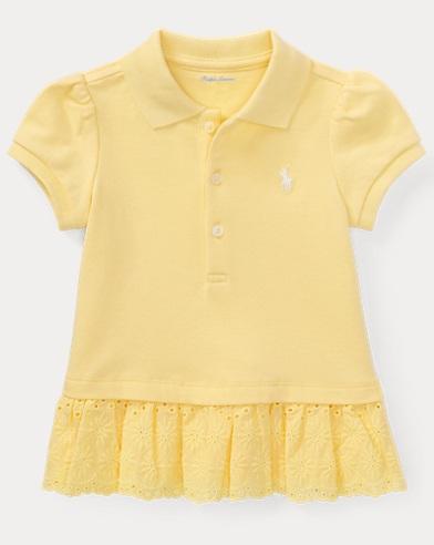 Eyelet Polo Dress & Bloomer