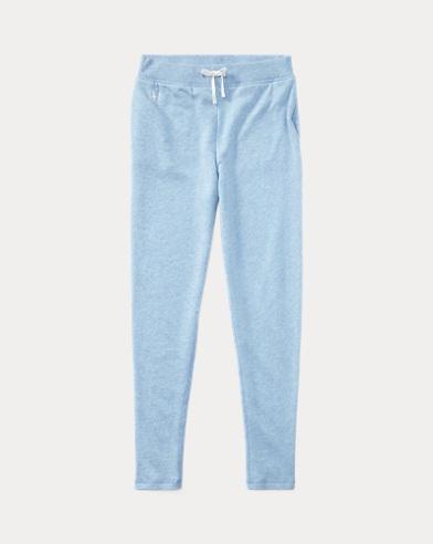Cotton-Blend Terry Pant