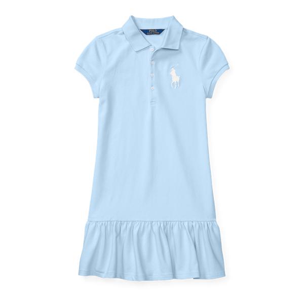 Ralph Lauren Big Pony Stretch Polo Dress Elite Blue Xl