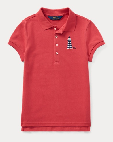 Anchor Stretch Mesh Polo Shirt