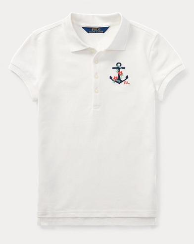 Anchor Stretch Mesh Polo Shirt