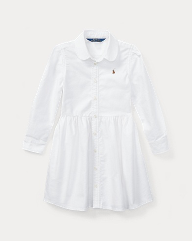 Cotton Oxford Shirtdress