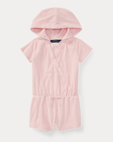Hooded Cotton Terry Romper