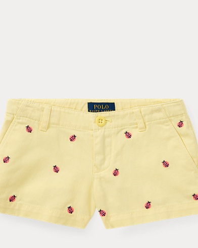 Ladybug Cotton Chino Short
