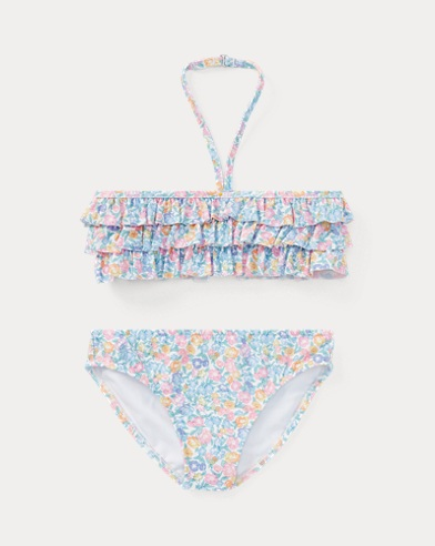 Floral Two-Piece Swimsuit