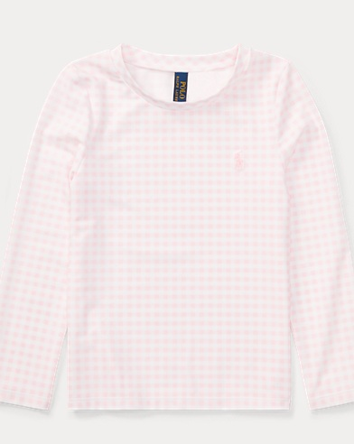 Gingham Rash Guard