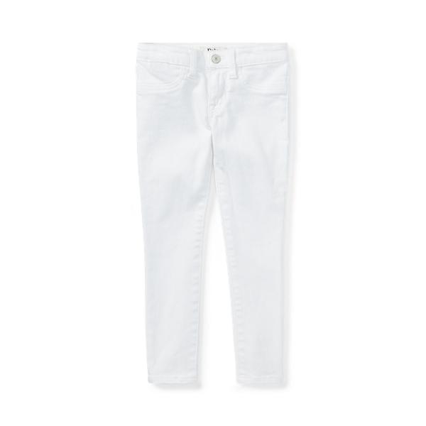 폴로 랄프로렌 여아용 레깅스 Polo Ralph Lauren Aubrie Denim Legging,White