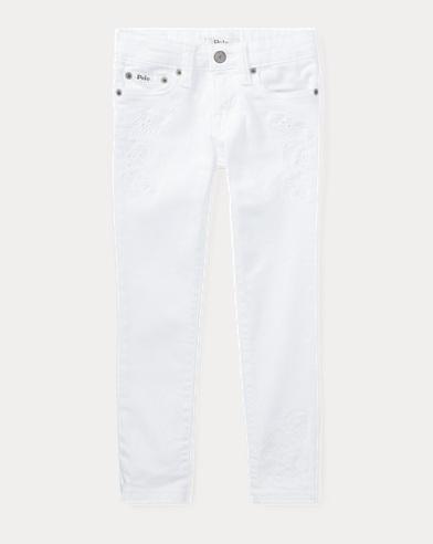 Jeans skinny Tompkins a fiori