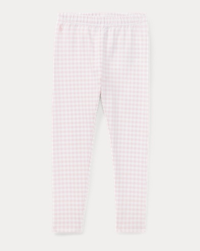 Gingham Jersey Legging