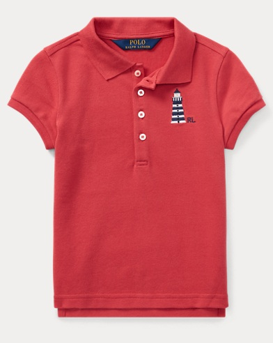 Lighthouse Mesh Polo Shirt
