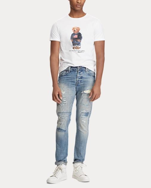 Fit Bear Shirt T Custom Slim 76gybfY
