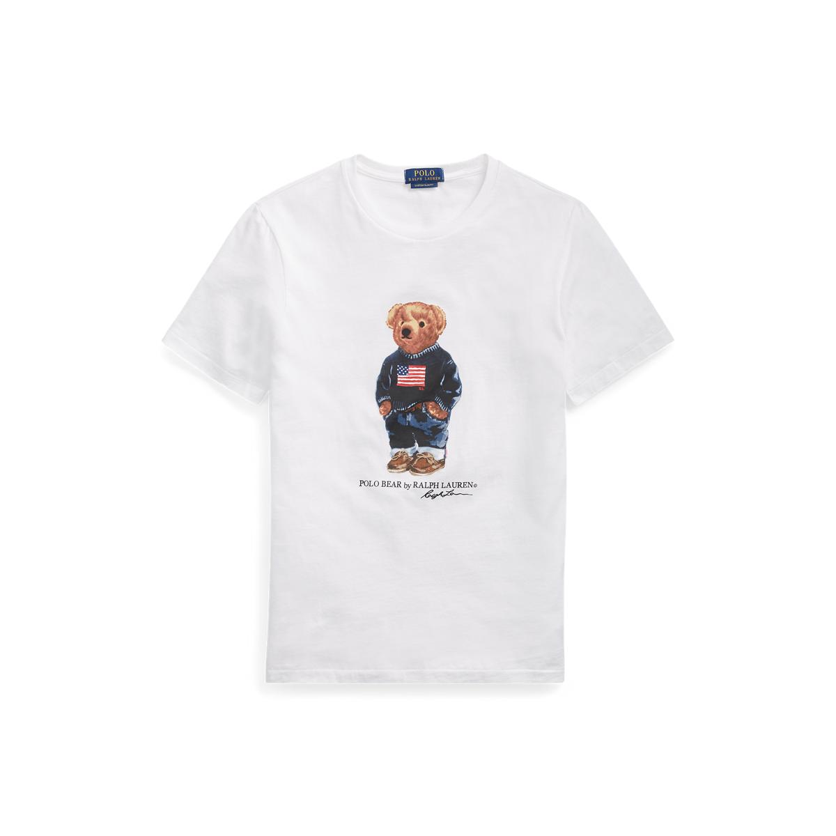 3442c0a8540 Custom Slim Fit Bear T-Shirt