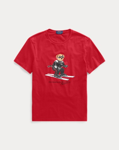 Custom-Slim-Fit T-Shirt mit Bear