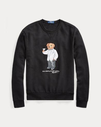 Martini Bear Sweatshirt