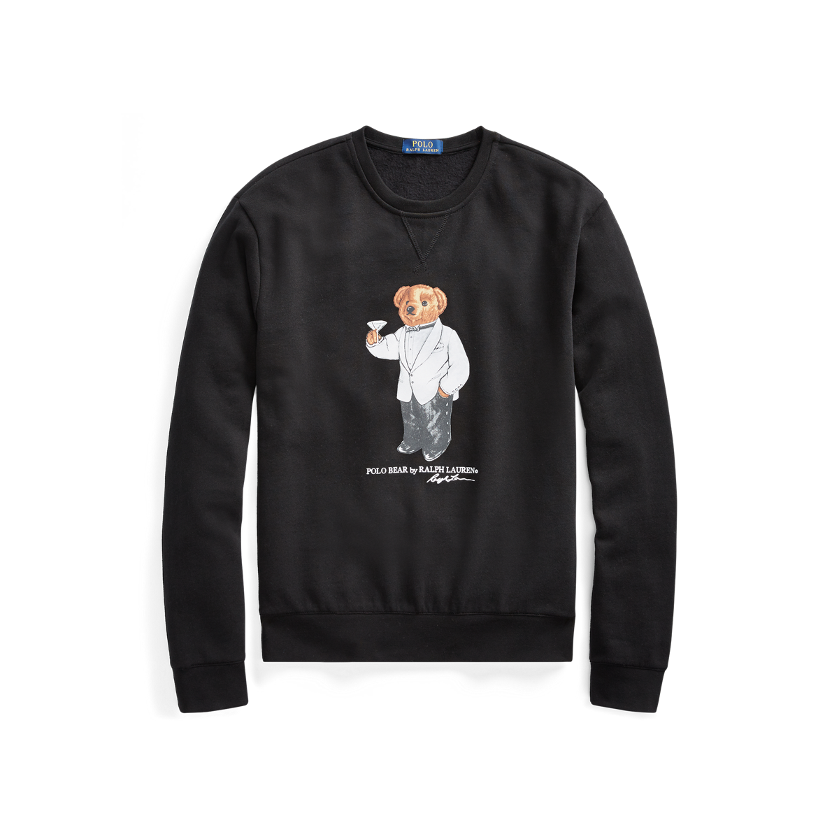 Martini Lauren Bear Fr SweatshirtRalph Bear Martini SweatshirtRalph H2I9YWEDe