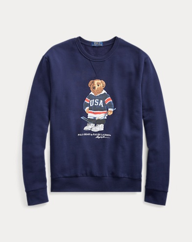 Hockey Bear Sweatshirt