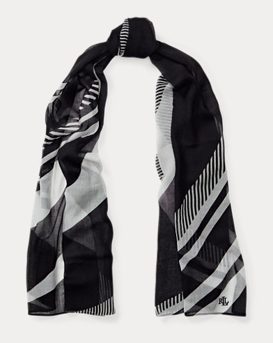 Larene Striped Scarf