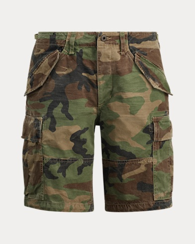 Short cargo camouflage Classic-Fit