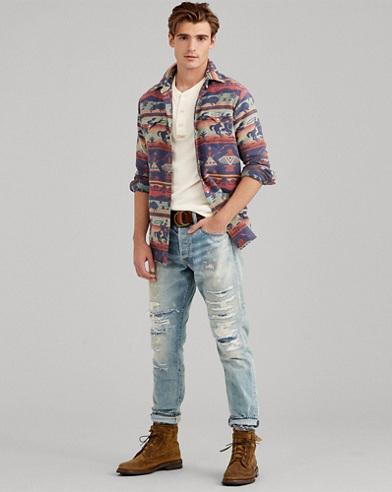 Classic-Fit Westernhemd