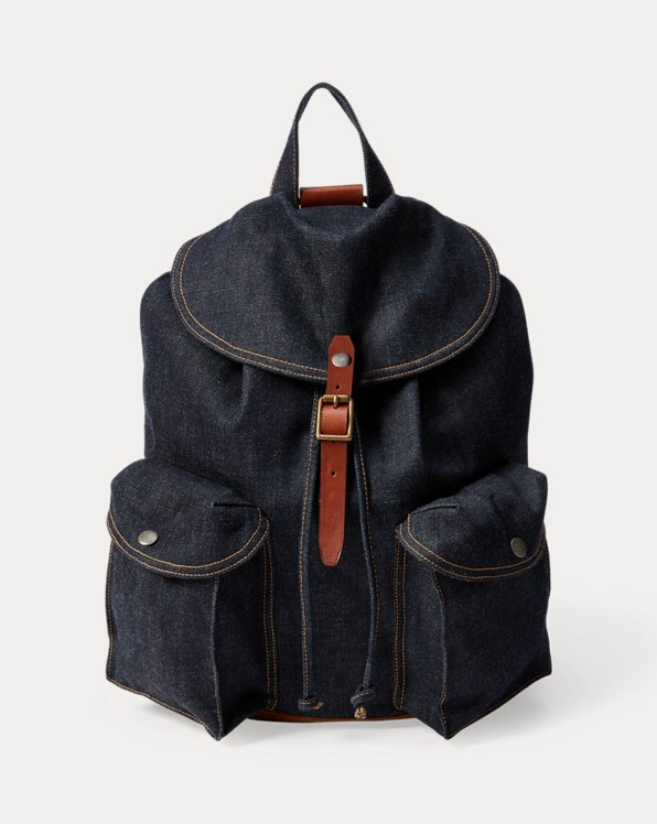 Sac à dos en denim