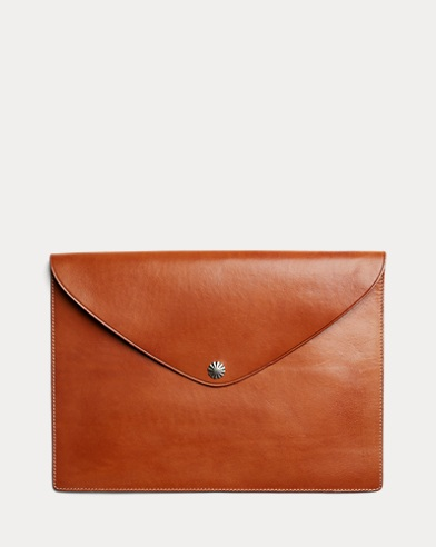 Concho Leather Tech Case