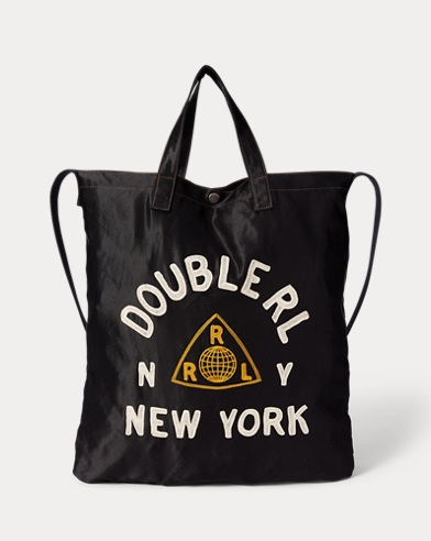Embroidered Market Tote