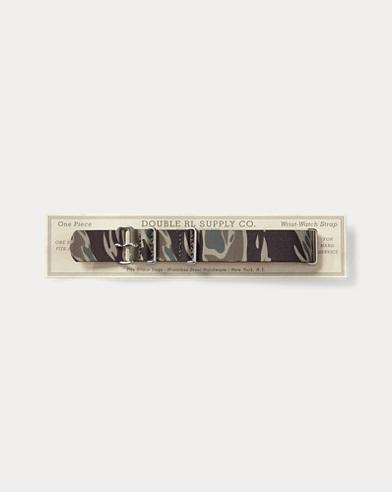 Camo-Uhrenarmband aus Polyester