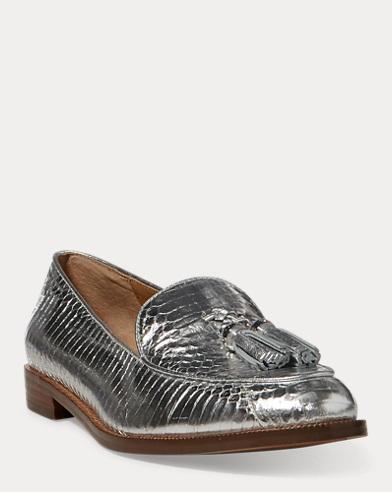 Brindy Snakeskin Loafer