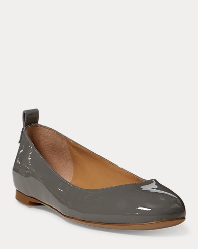 Glenna Leather Flat