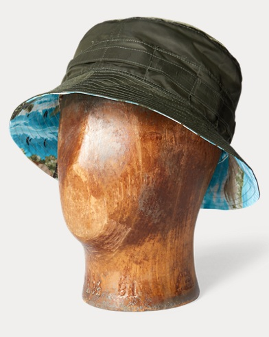 Reversible Packable Bucket Hat