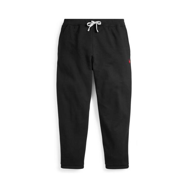 Polo Ralph Lauren Men's Cotton Fleece Athletic Pants In Polo Black