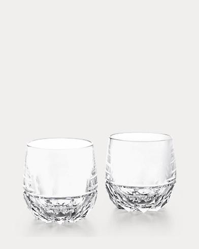 Verres à whisky Monroe en cristal